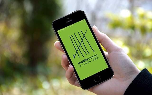 Unsere App für das MobileCamp in Dresden