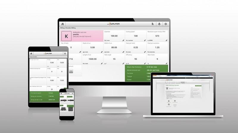 Walter Zerspanungsrechner als App - ein Vorzeigebeispiel für Industrie 4.0