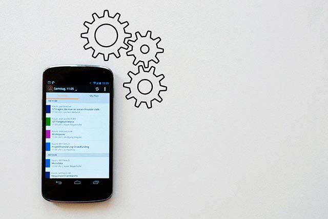 Fernwartung, Steuerung und Optimierung von Maschinen über eine App
