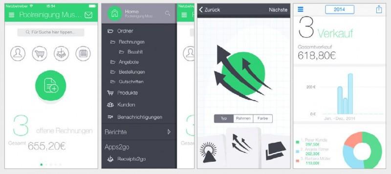 Rechnungen per App erstellen und verwalten