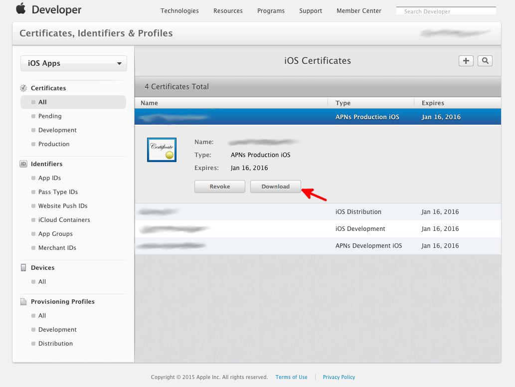 How To Erstellen Von Pem Dateien Für Ios Push Notification Server