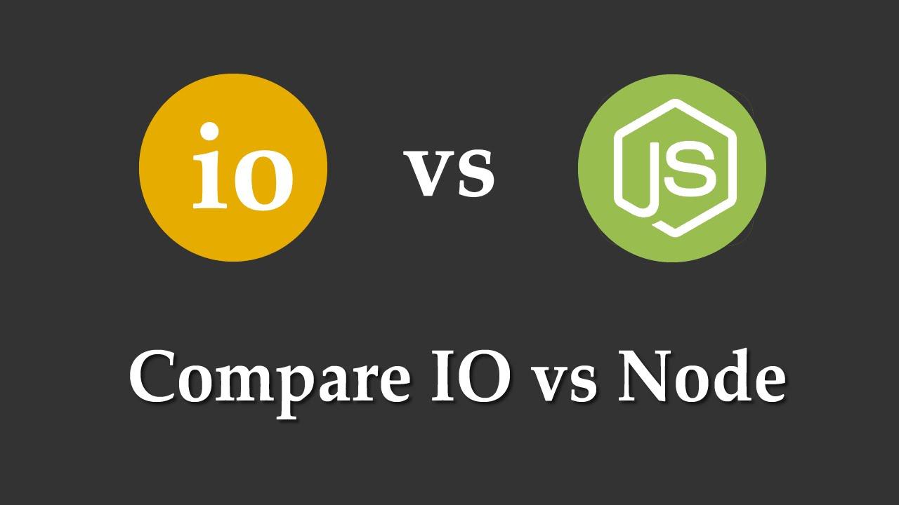 Compare IO.js vs Node.js (gefunden: http://i.ytimg.com/vi/4oXdl2oE43g/maxresdefault.jpg)