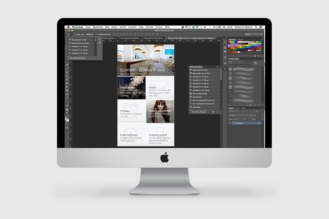 Wireframes und Screendesign – eine App nimmt Gestalt an