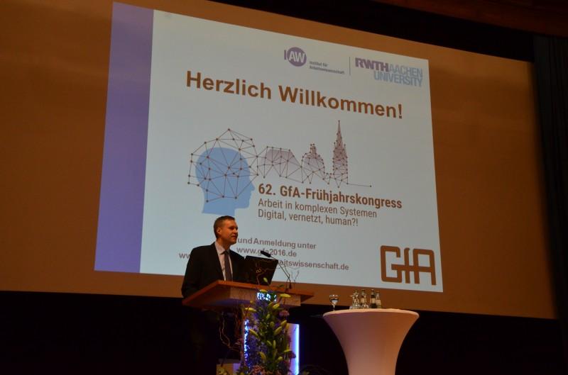 Die Arbeit der Zukunft – FLYACTS war Sponsor des 62. GfA-Frühjahrskongresses