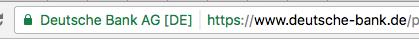 SSL-Anzeige bei Chrome