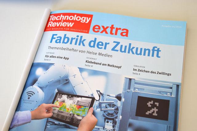 """""""Für alles eine App"""" – Marcus im Interview mit der Technology Review"""