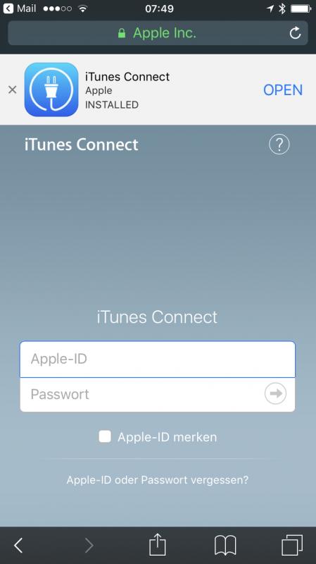Anleitung iOS-Apps testen über Testflight | FLYACTS