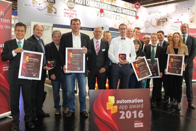 Zwei Gewinner beim automation app award: Marcus stimmte mit ab