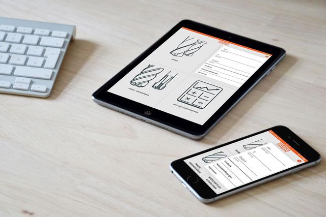 Industrie-App für komplexe Berechnungen