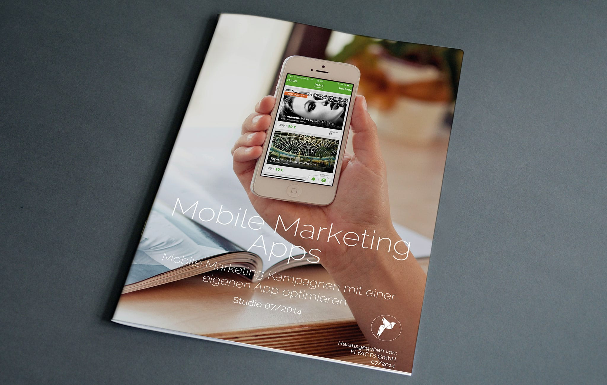 Mobile Marketing Apps Deckblatt