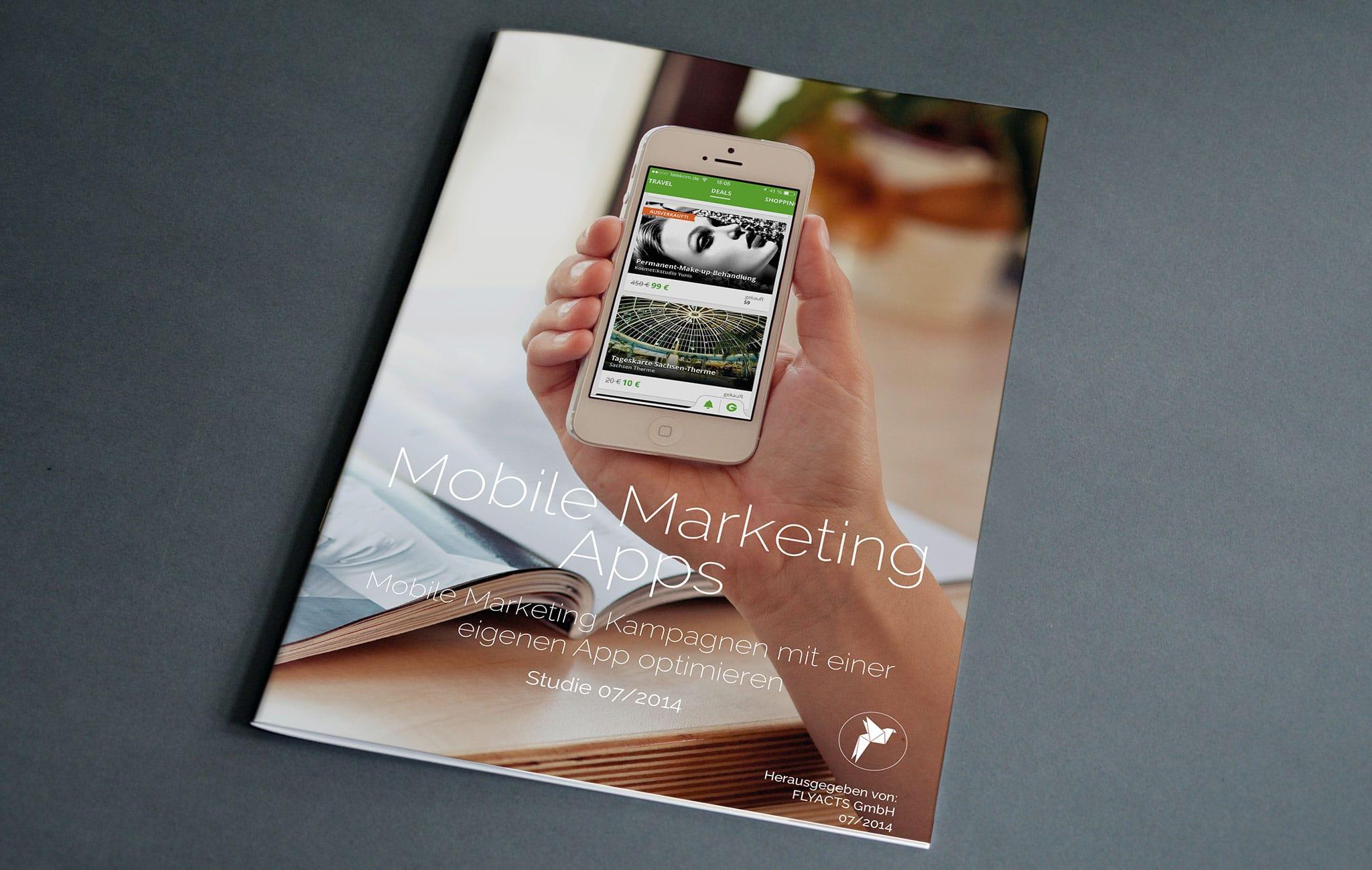 Studie über Mobile Marketing Apps