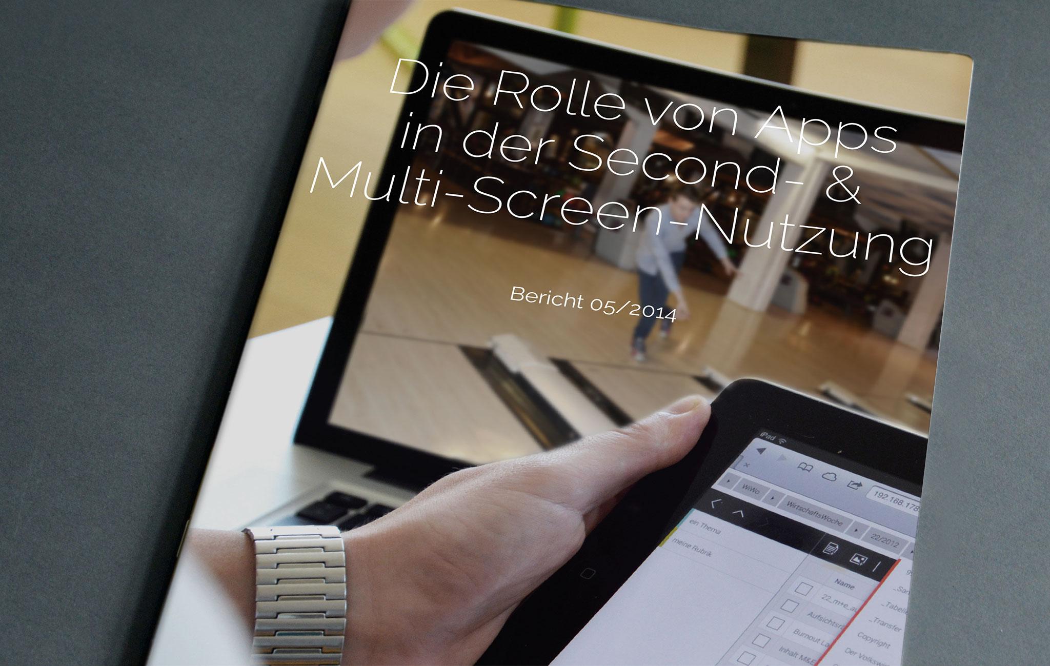 Die Rolle von Apps in der Second- & Multi-Screen-Nutzung