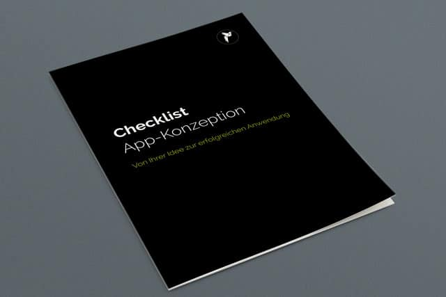 Checklist App-Konzeption