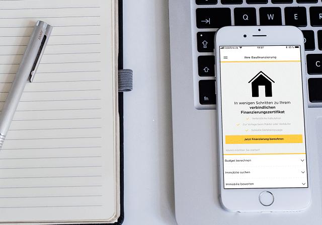 So geht digitaler Service: Die Commerzbank Baufi-App