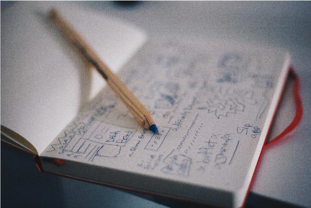 Notizbuch Stift Teaser