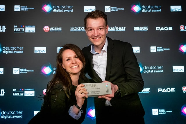FLYACTS gewinnt Deutschen Digital Award 2019