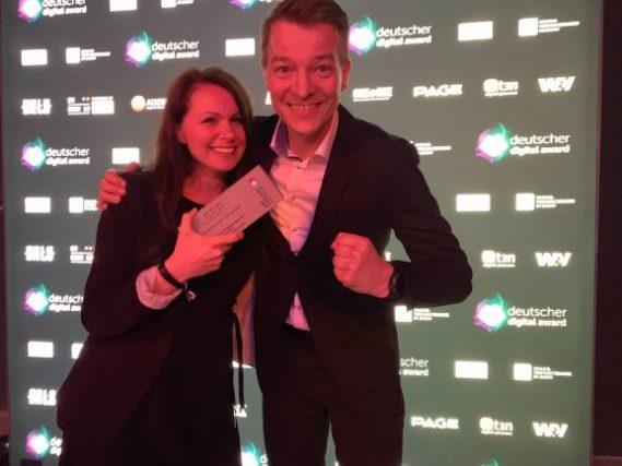 Deutscher Digital Award FLYACTS