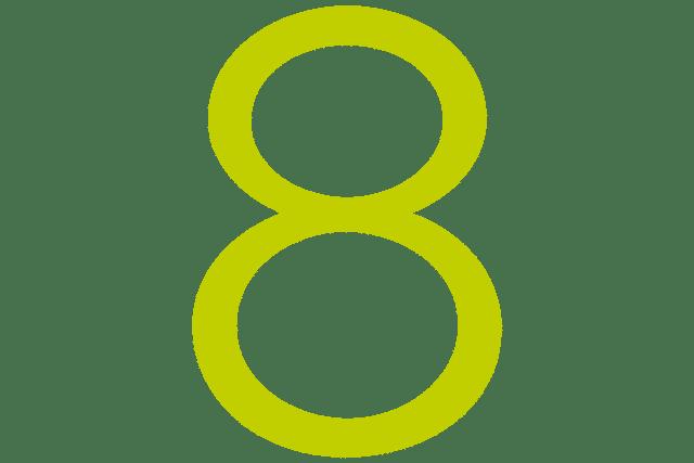 Nummerierung 8
