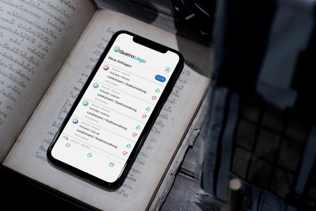 Starke Matching-Plattform für Übersetzer & Auftraggeber